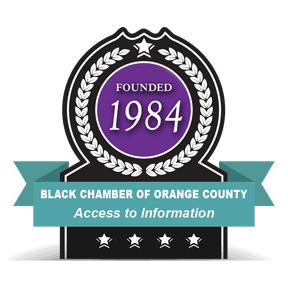 Orange County Black Chamber of Commerce Jobs Board Logo